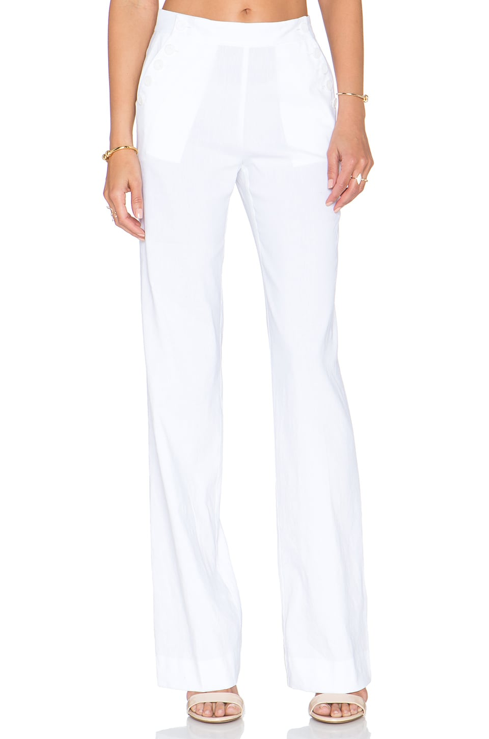 Theory Alrigo Pant in White