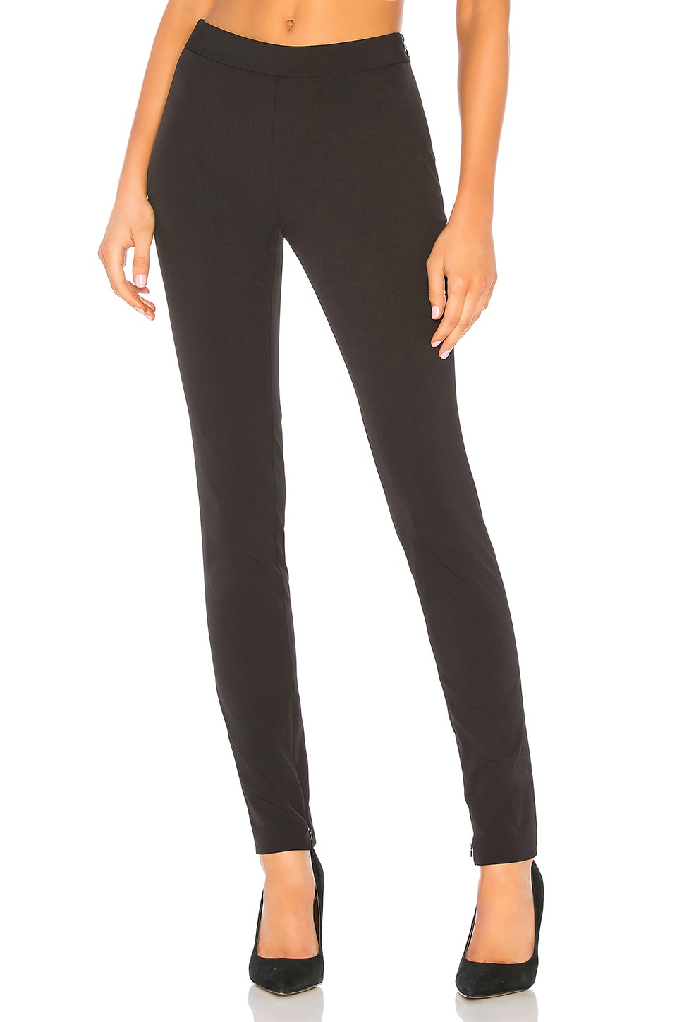 Theory High Waisted Legging in Black