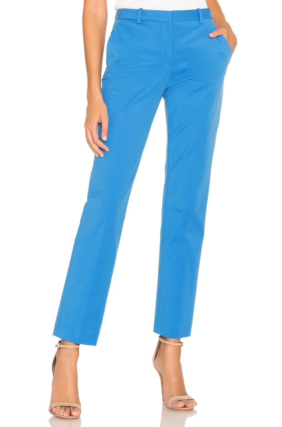 Theory Tailored Trouser in Light Lapis