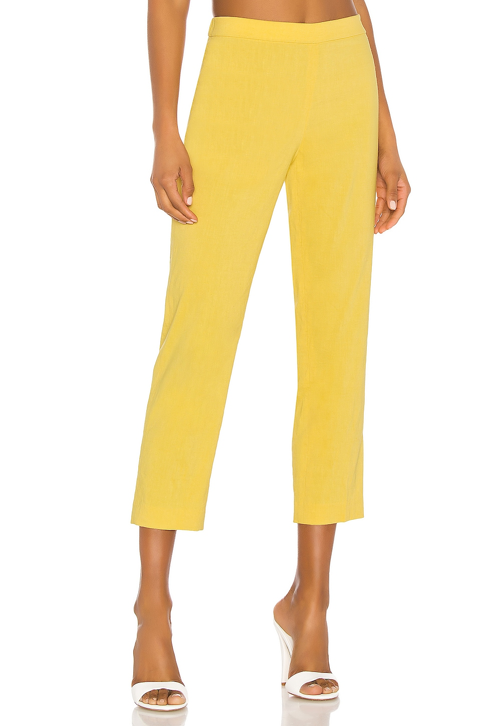 Theory Basic Pull On Pant in Orange Blossom