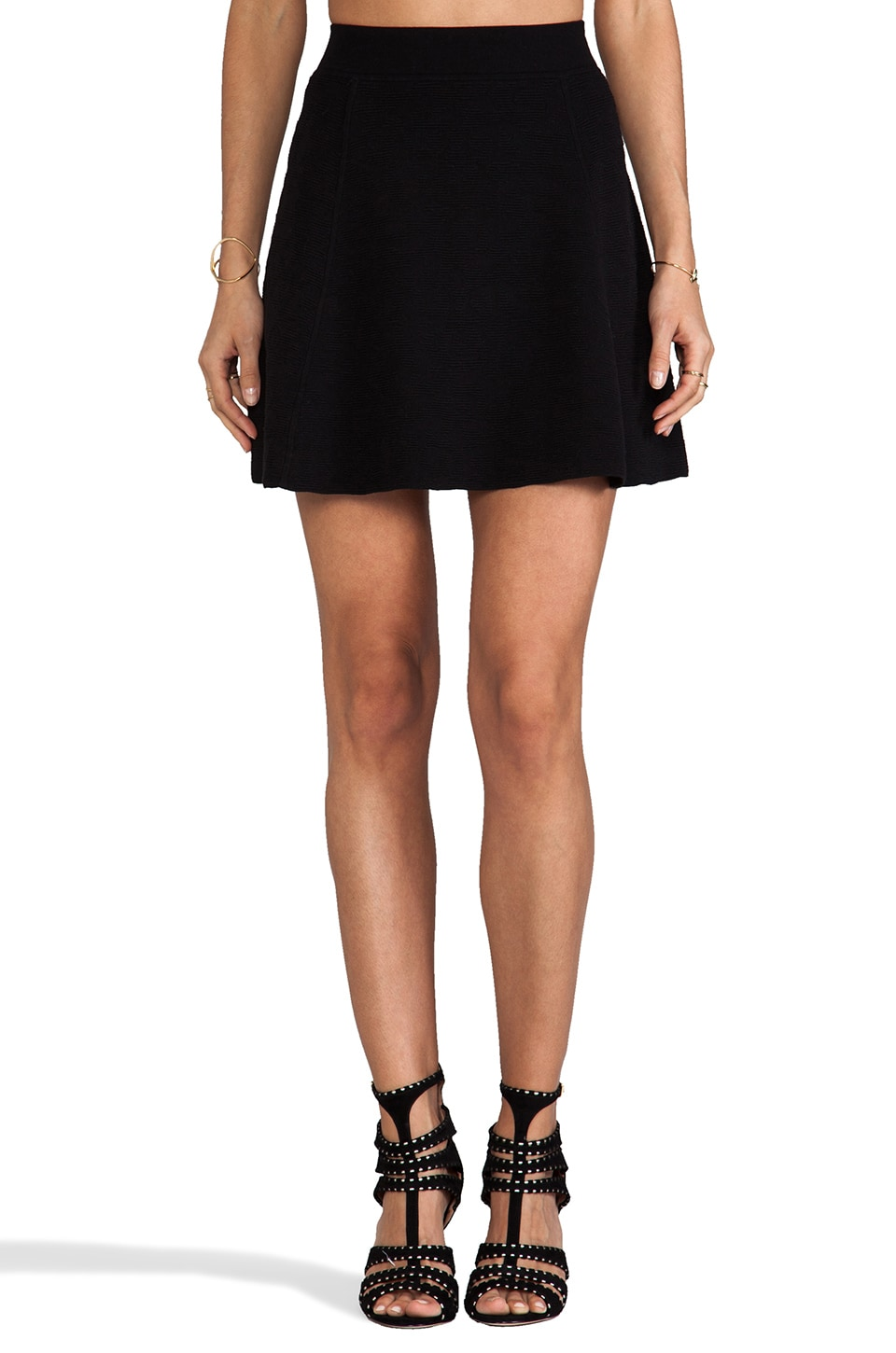 Theory Doreene B Skirt in Black