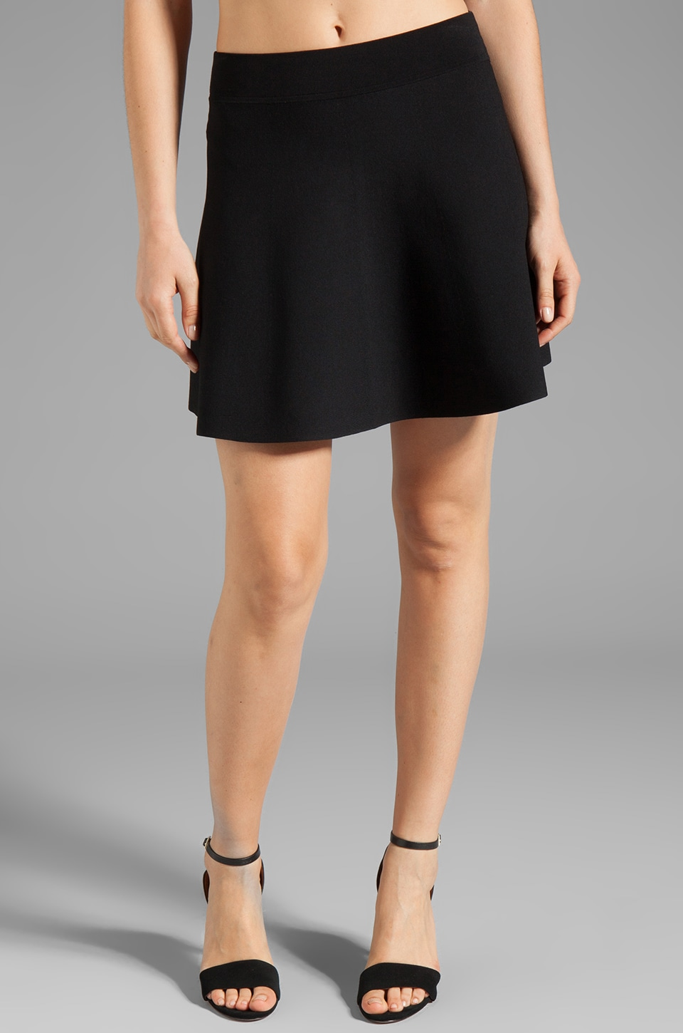Theory Doreene Skirt in Black