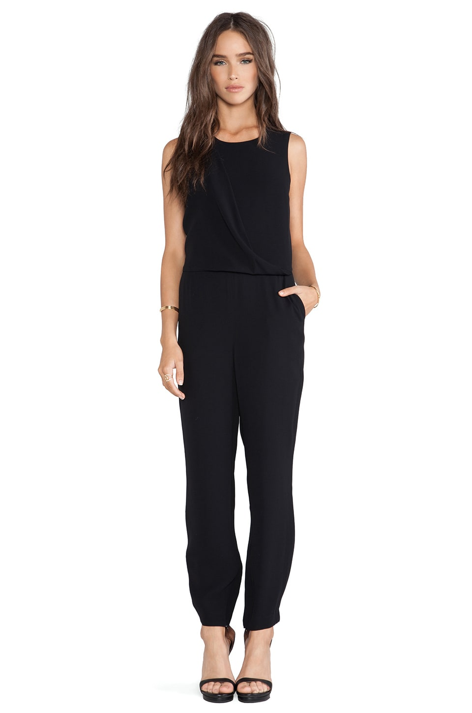 Theory Daimine Jumpsuit in Black