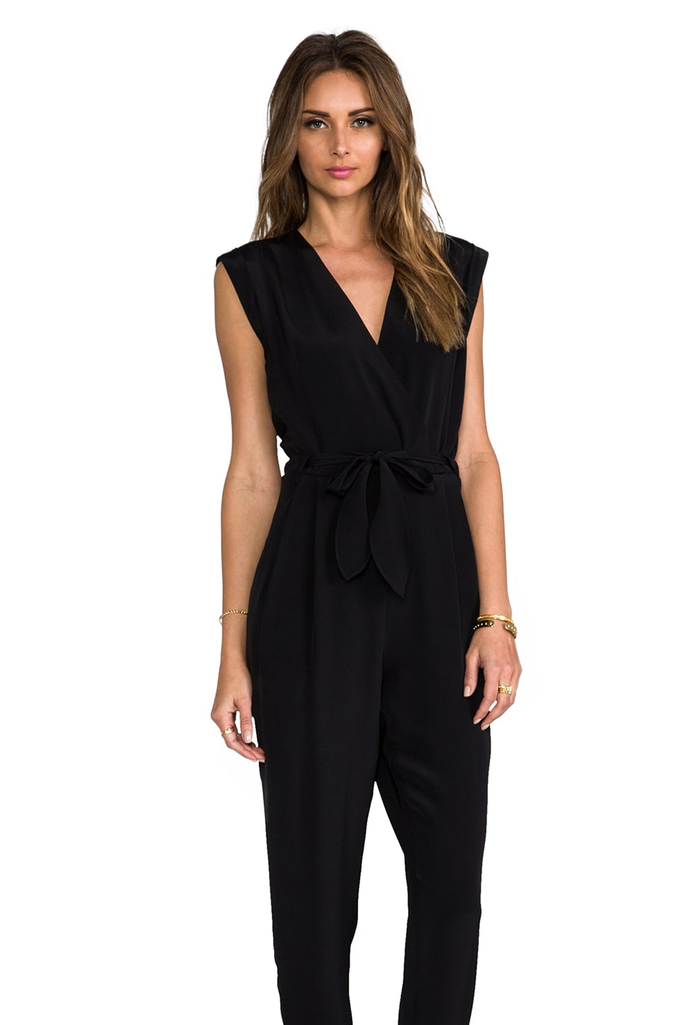 Theory Selection Pavona Jumpsuit in Black