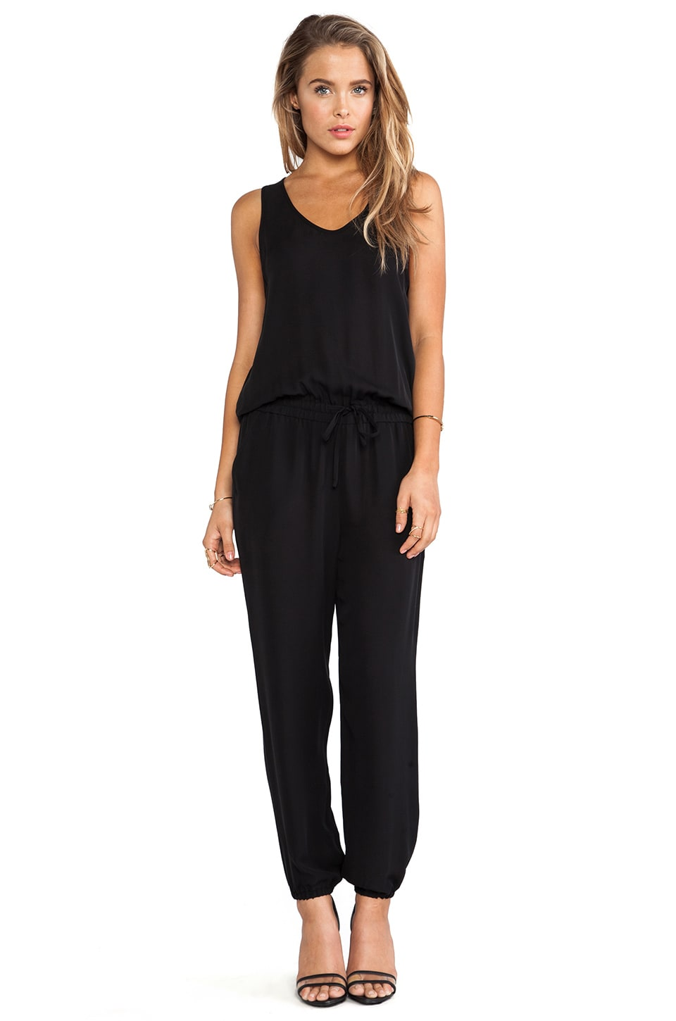 Theory Lortan W Jumpsuit in Black