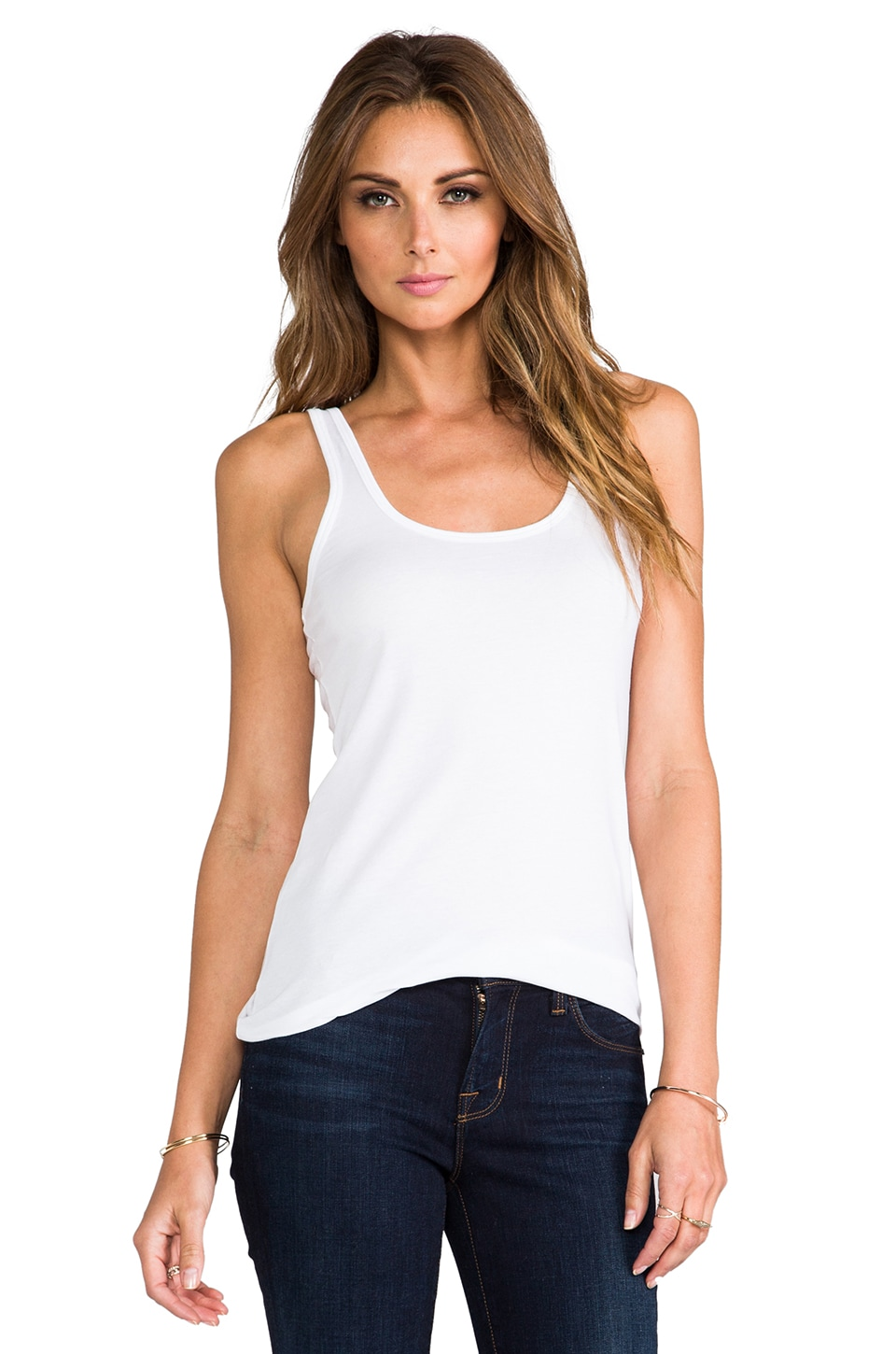 Theory Mallory 2 Tank in White