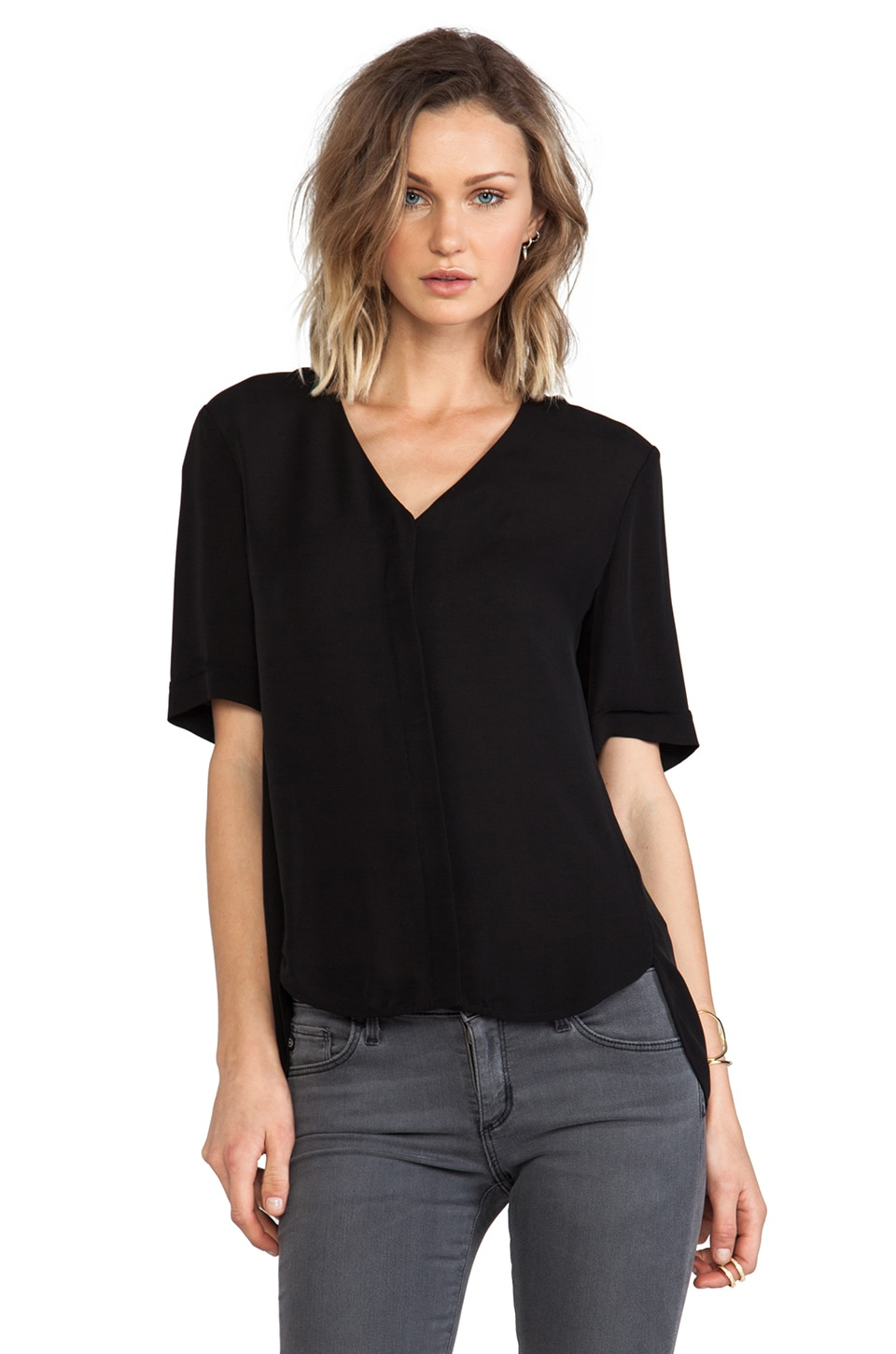 Theory Napala Top in Black