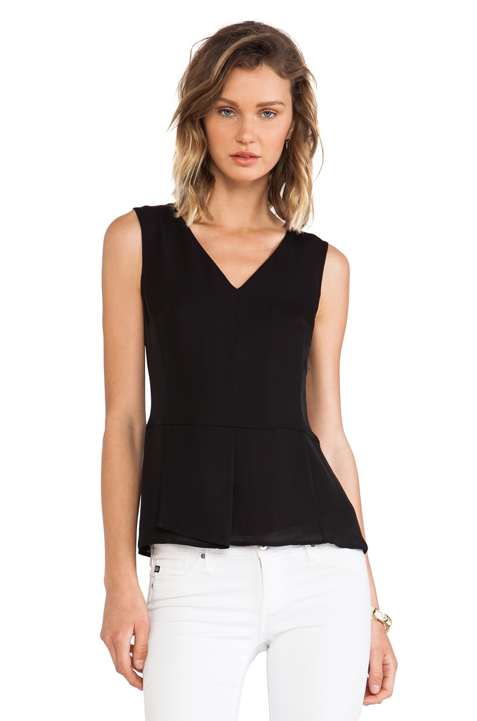 Theory Jinelle Tank in Black