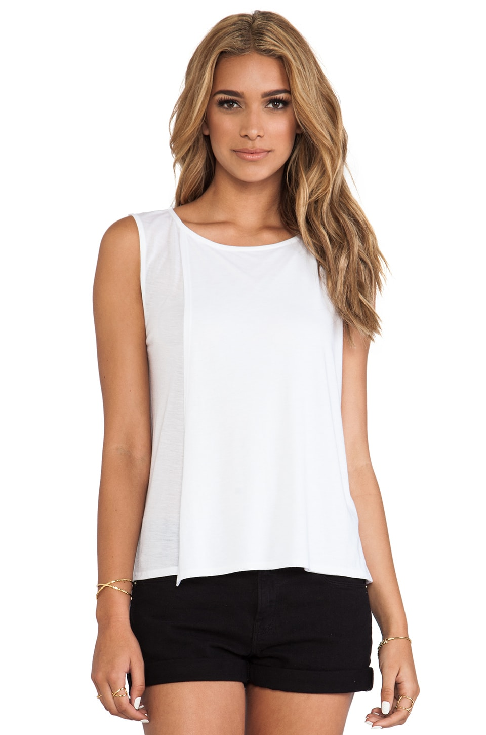 Theory Maidena Tank in White