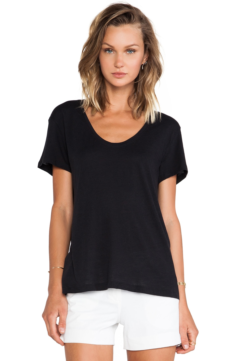 Theory Bianata Top in Black