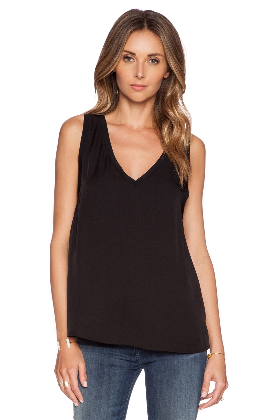 Theory Alwa Tank in Black