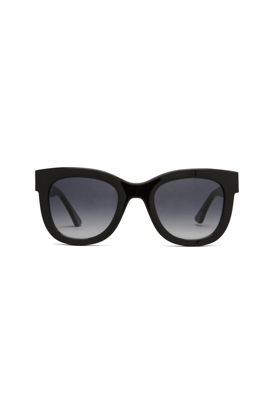 Thierry Lasry Obsessy Sunglasses in Black Plastic