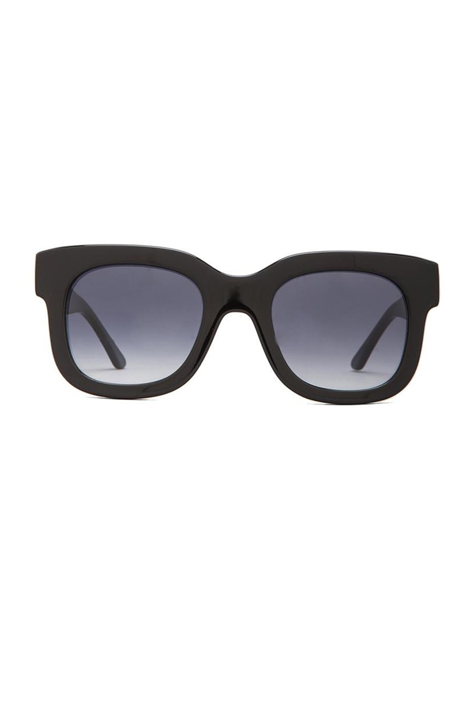 Thierry Lasry Dominaty Sunglasses in Solid Black
