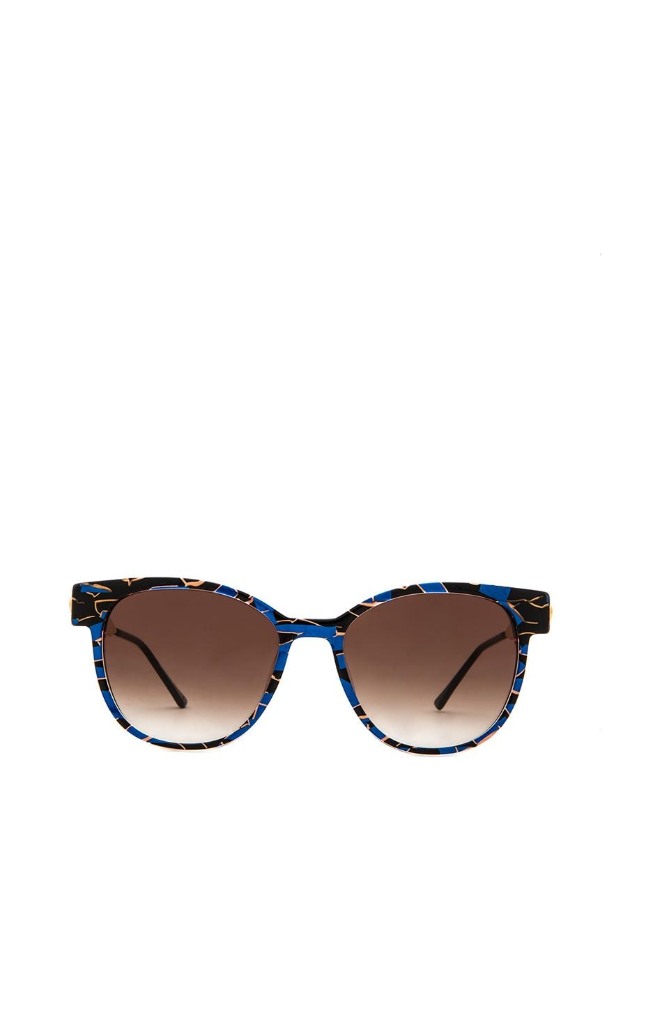 Thierry Lasry Perfidy Sunglasses in Blue Multi