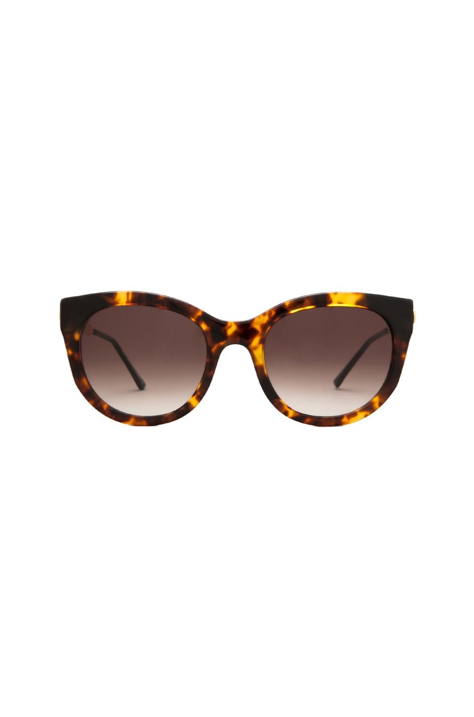 Thierry Lasry Lively Sunglasses in Warm Tortoise