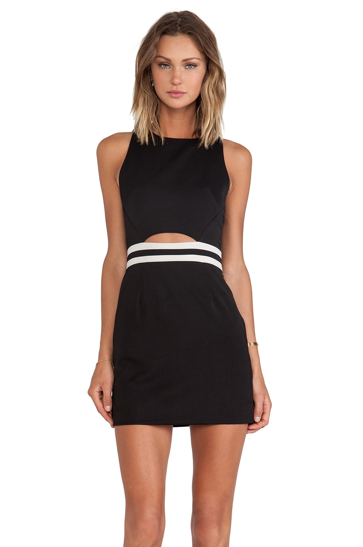 Three of Something Turning Point Dress in Black