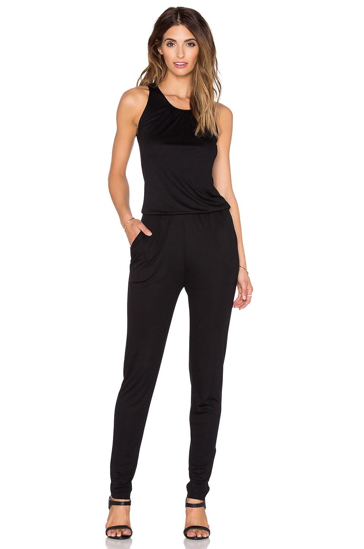 three dots Sleeveless Jumpsuit in Black