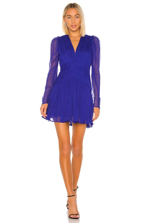 THURLEY Poseidon Mini Dress in Royal Blue