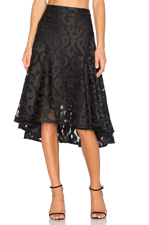 THURLEY Baroque Beauty Skirt in Black