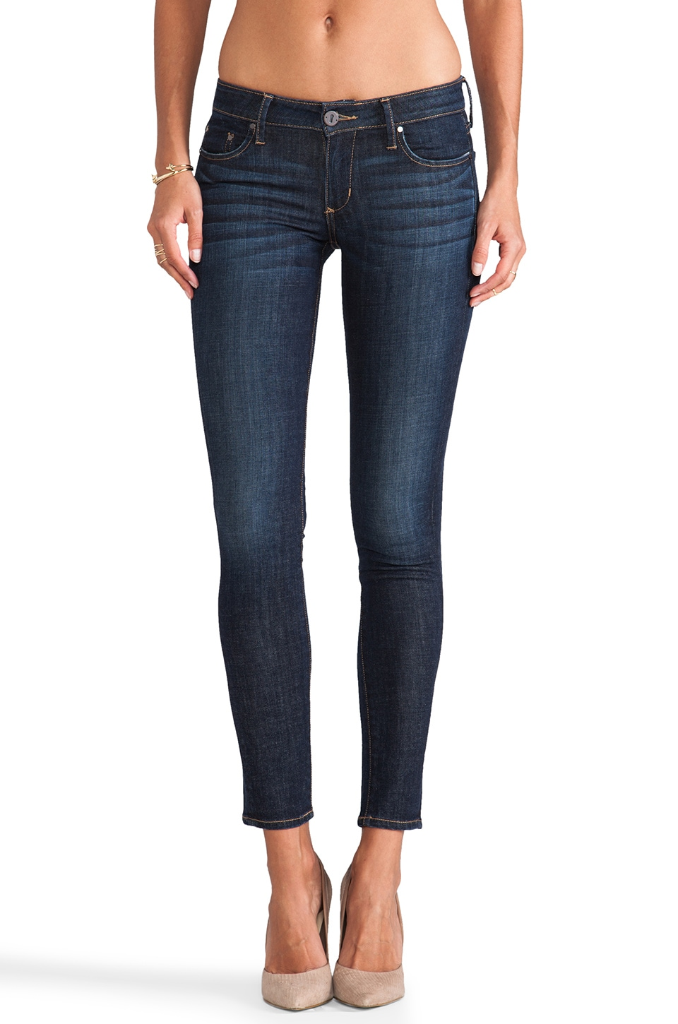 thvm Twilight Skinny in Dark Indigo