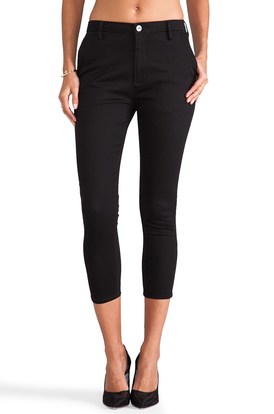 thvm Night Pant in Black