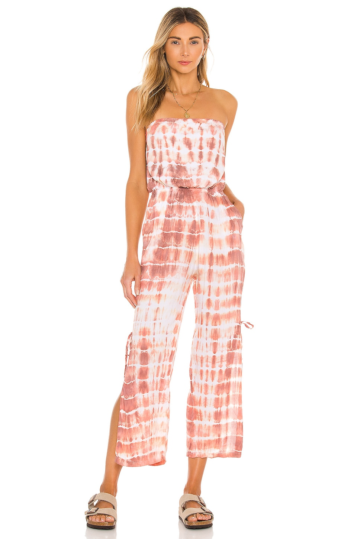 Tiare Hawaii Osaka Pantsuit in Sabia Peach & Mauve