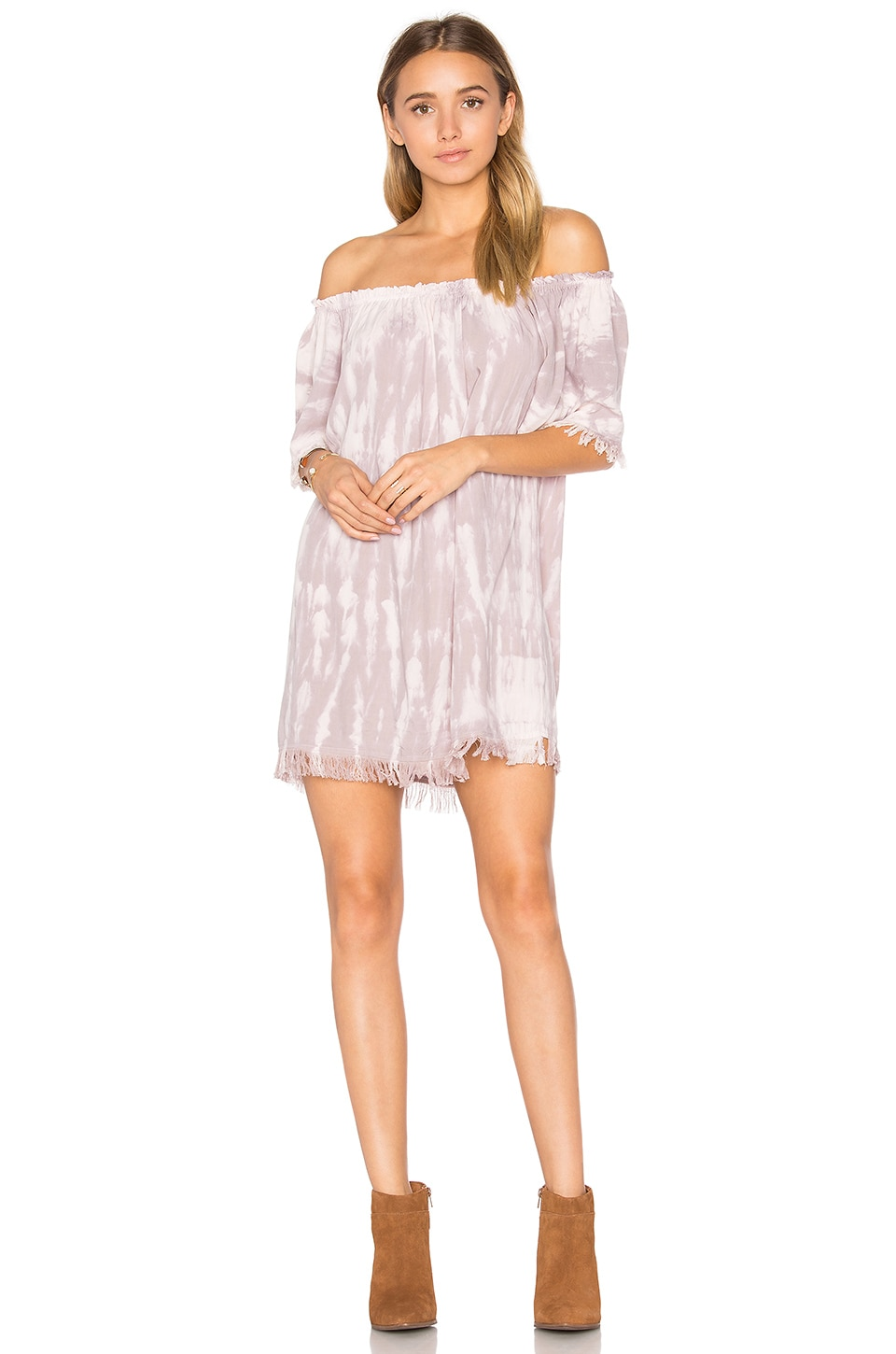 Tiare Hawaii Iris Dress in Mauve Nude