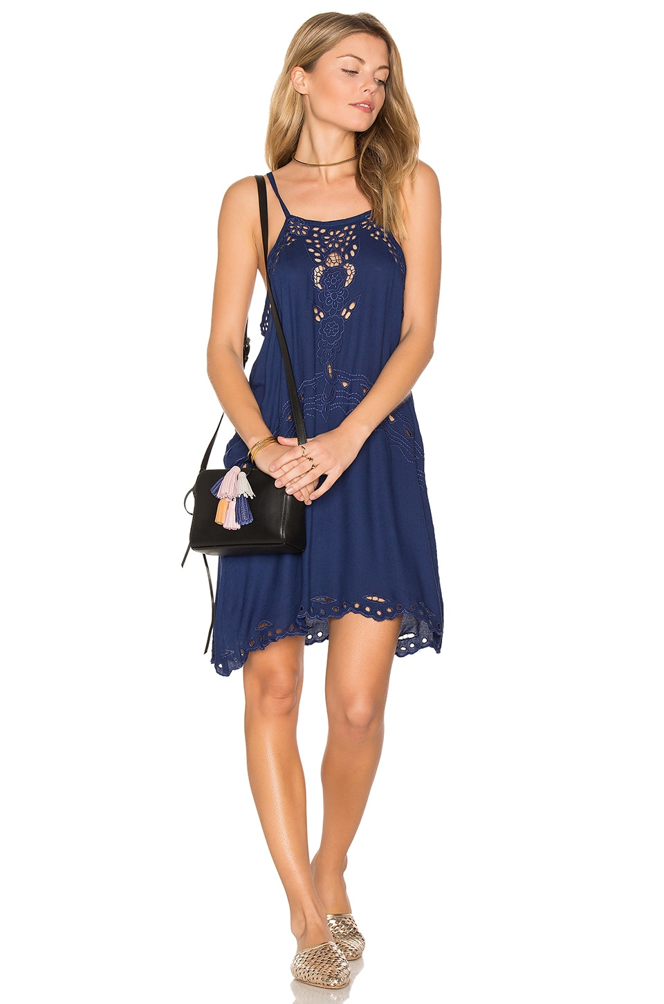 Tiare Hawaii Jelys Dress in Navy