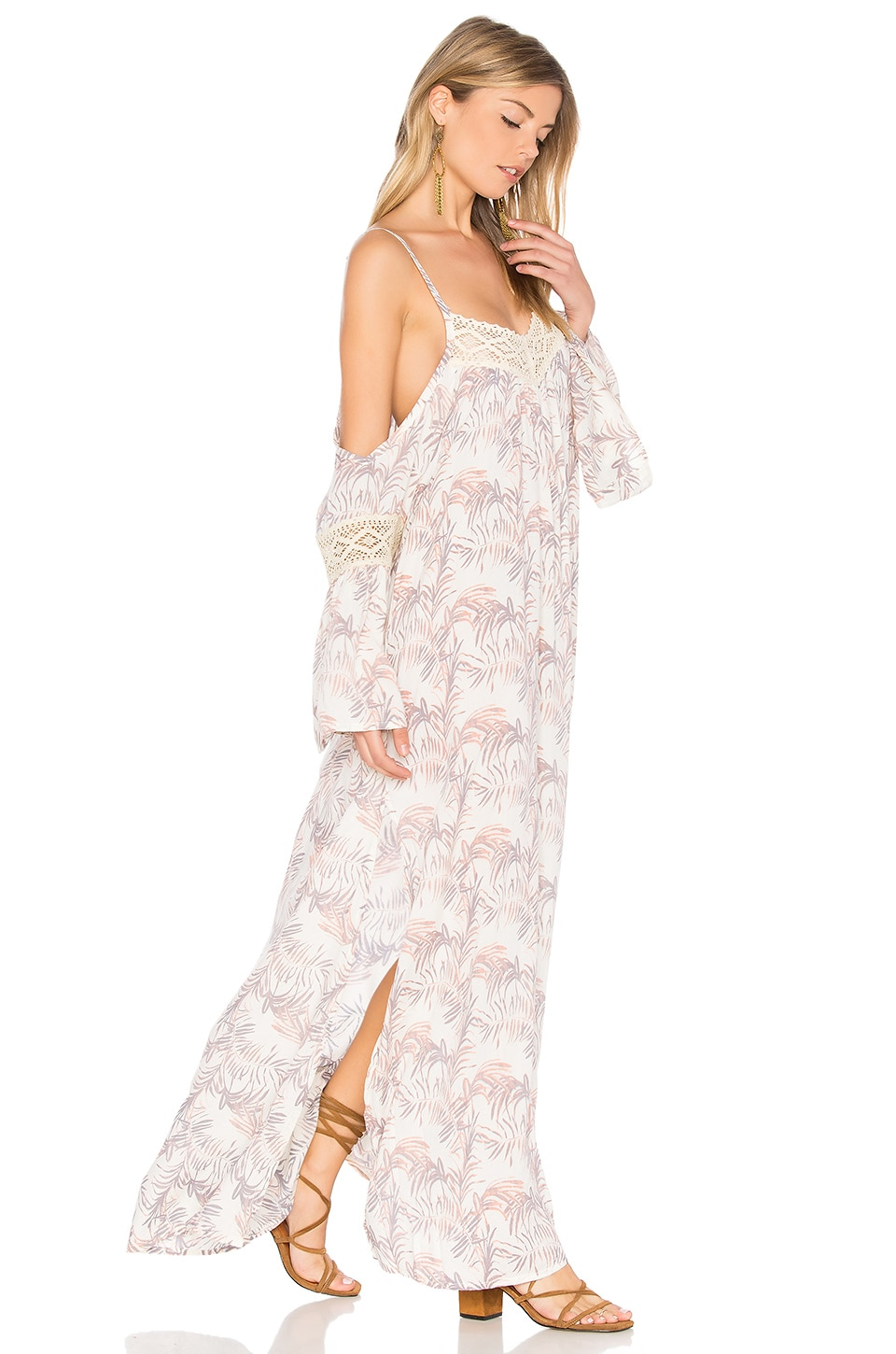 Tiare Hawaii Zella Maxi in Palm Cream