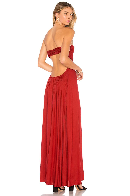 Kai Strapless Maxi Dress