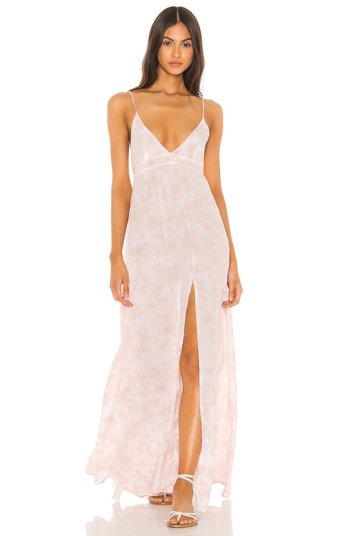 Tiare Hawaii Day Dream Dress in Mauve White Smoke