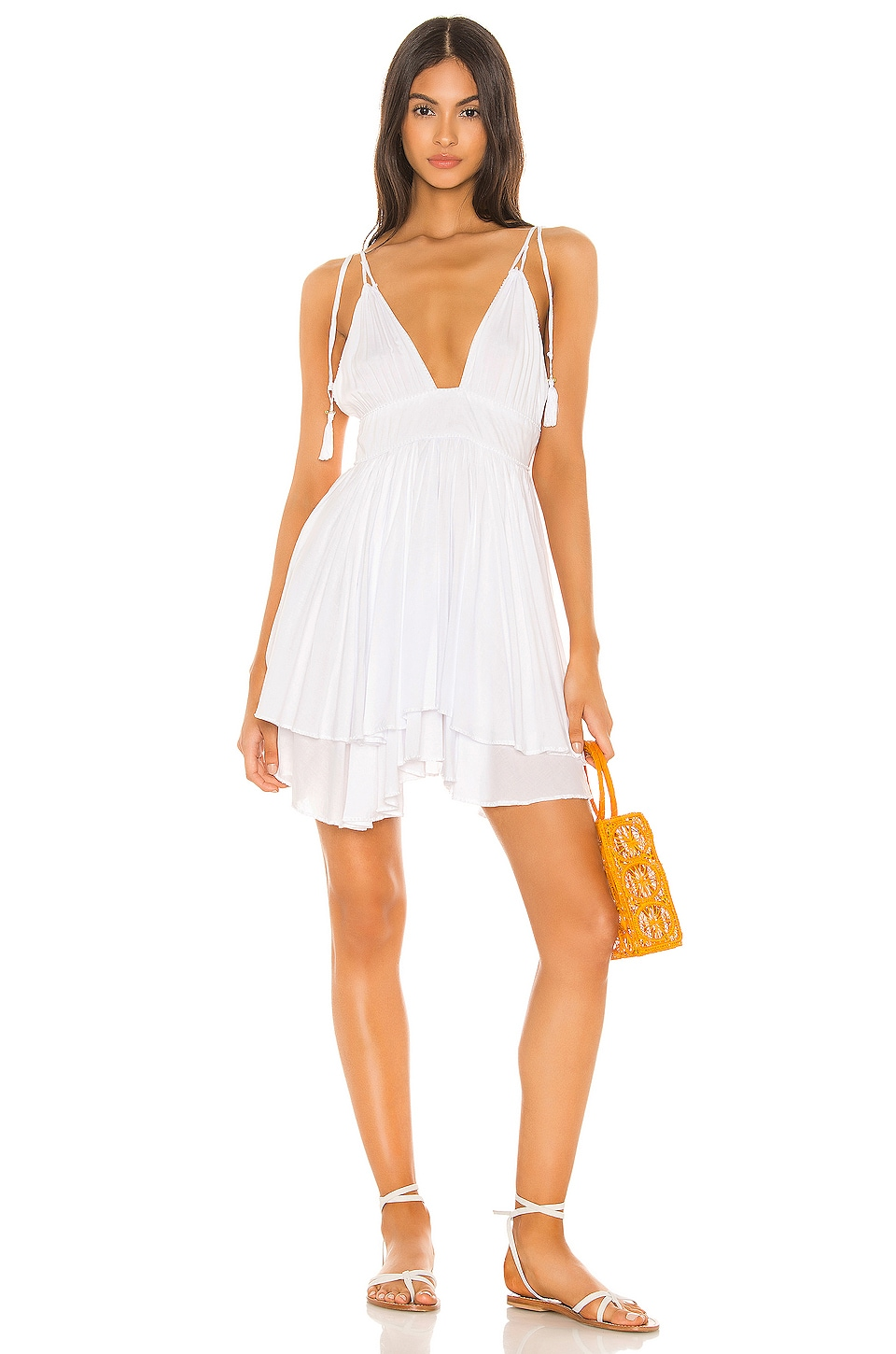 Tiare Hawaii Oui Short Dress in White