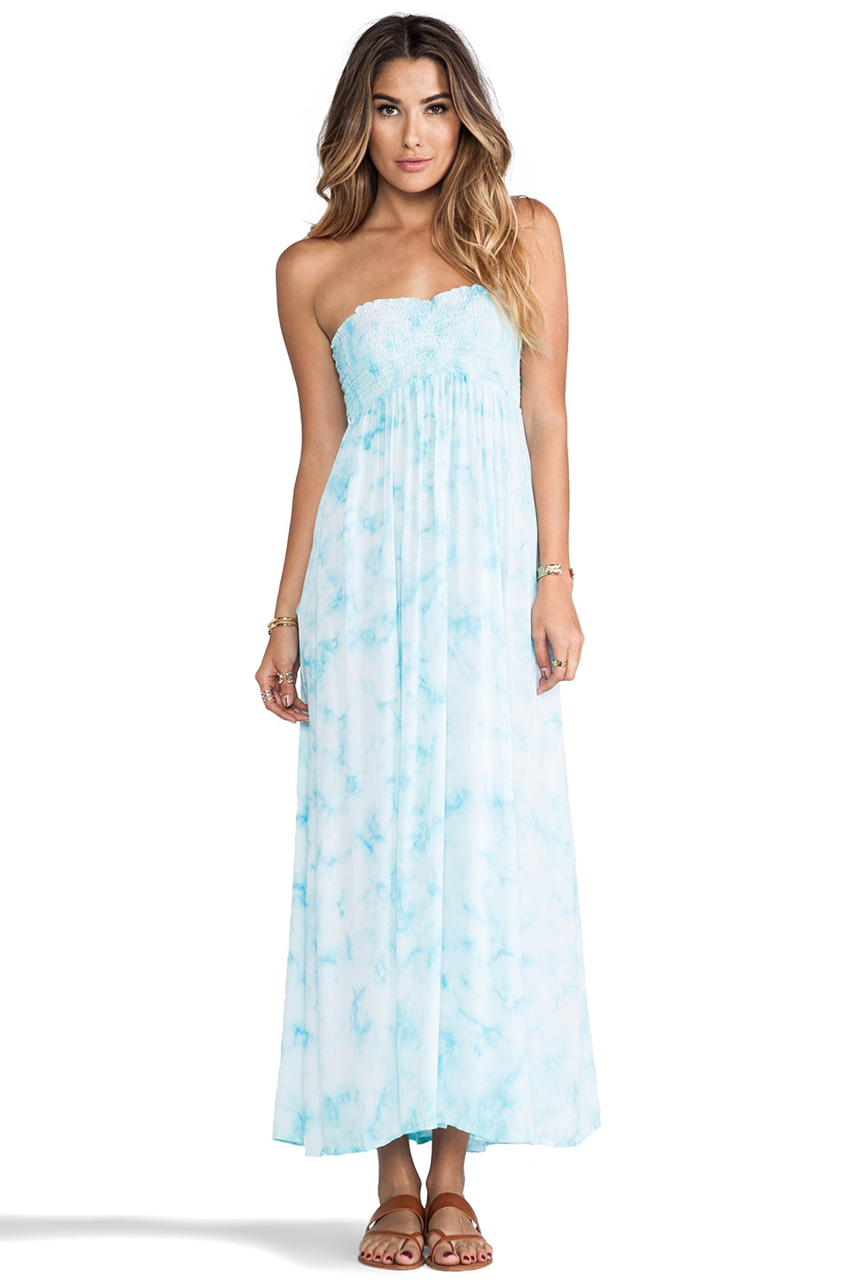 Tiare Hawaii Seaside Maxi in Aqua