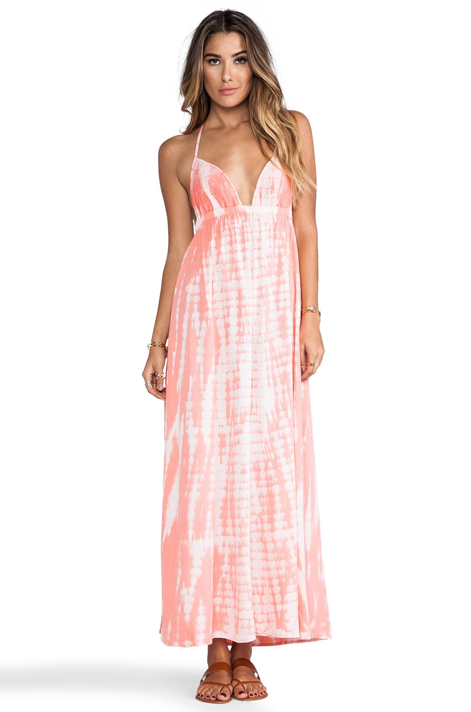 Tiare Hawaii Montevideo in Pink Tie Dye