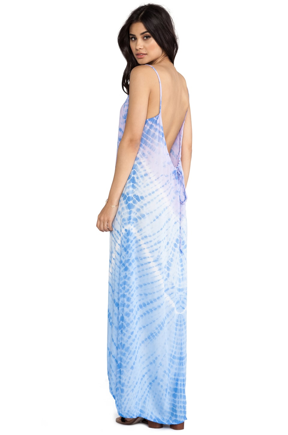 Tiare Hawaii Sandy Maxi Dress in Violet & Blue Violet Vibe