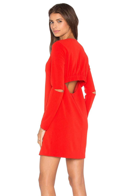 Slim Shirred Panel Dress