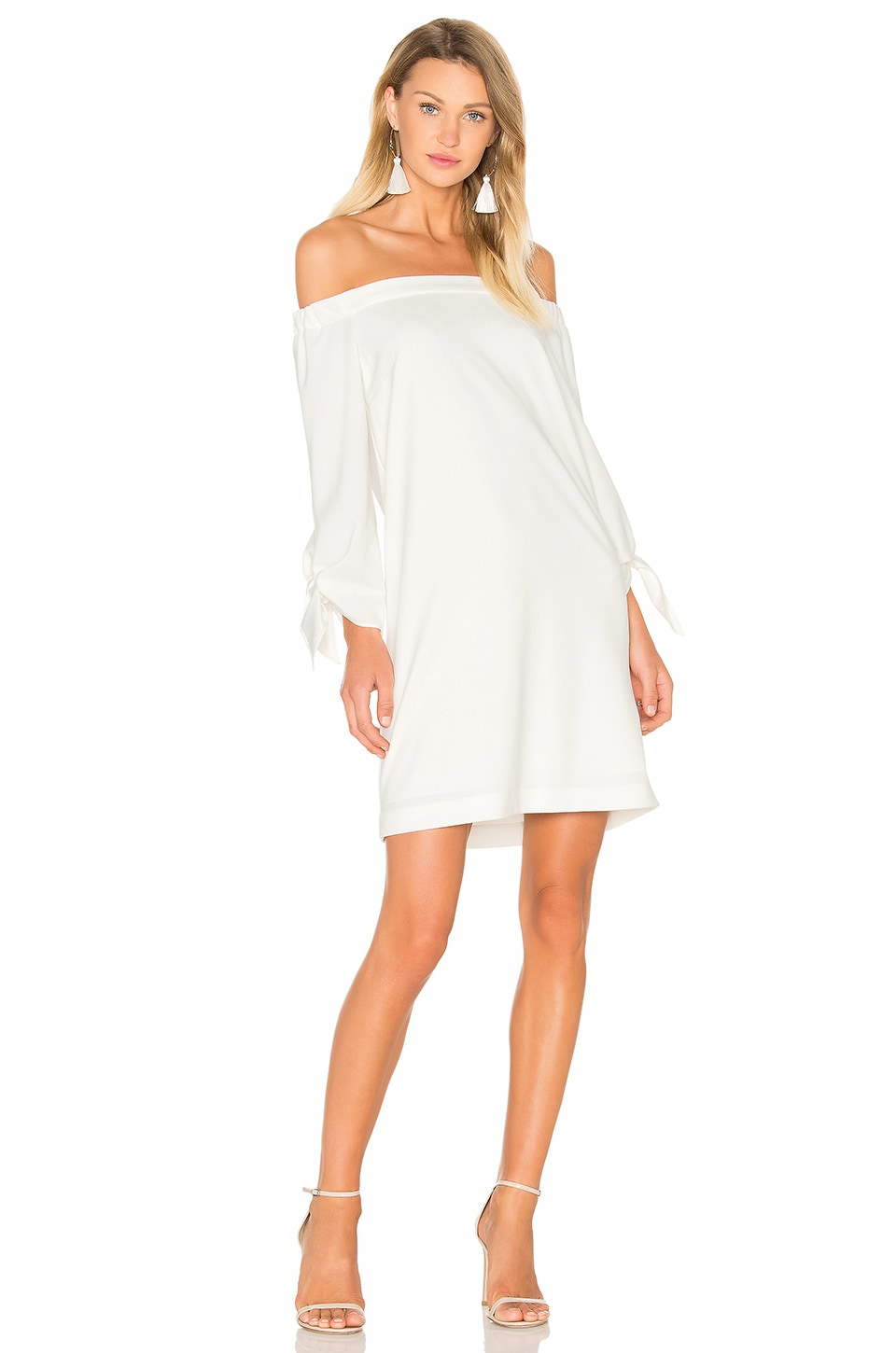 Off The Shoulder Dress by Tibi