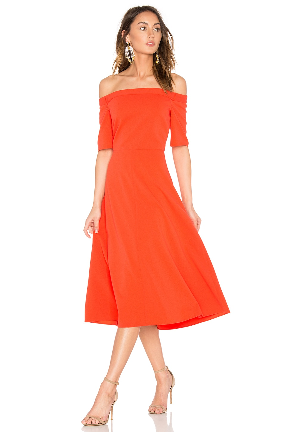 Elbow Sleeve Dress by Tibi