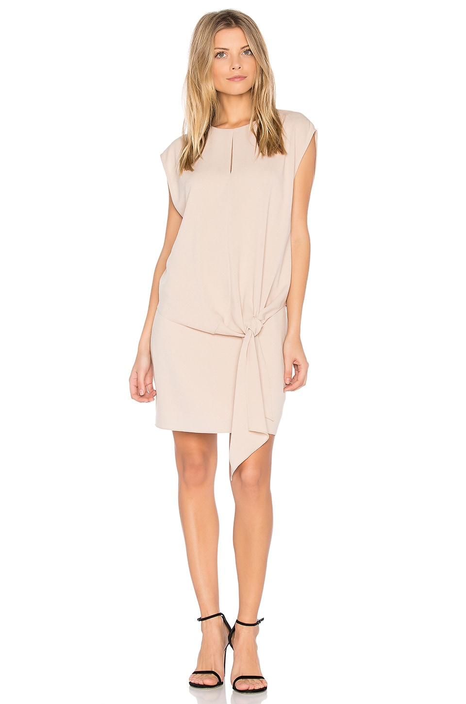 Savanna Tie Front Dress by Tibi
