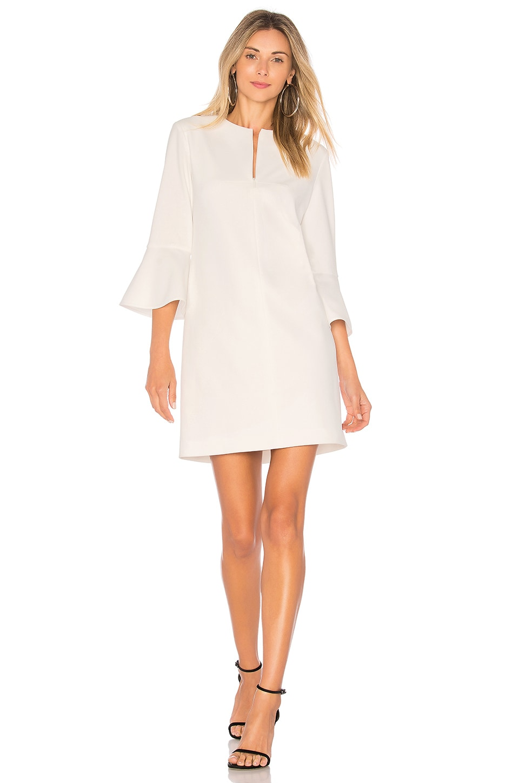 Bell Sleeve Dress by Tibi