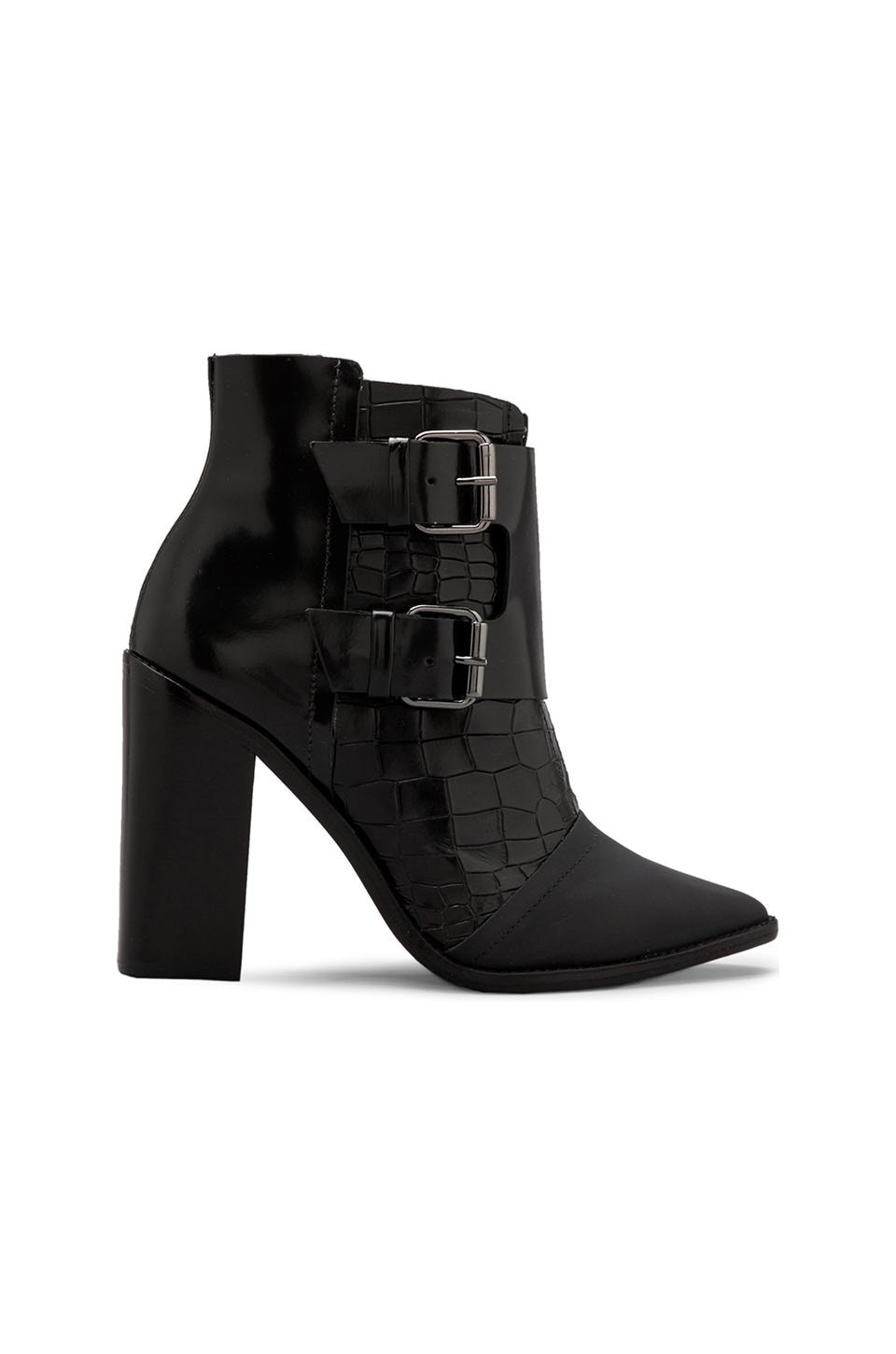 Tibi Piper Bootie in Black