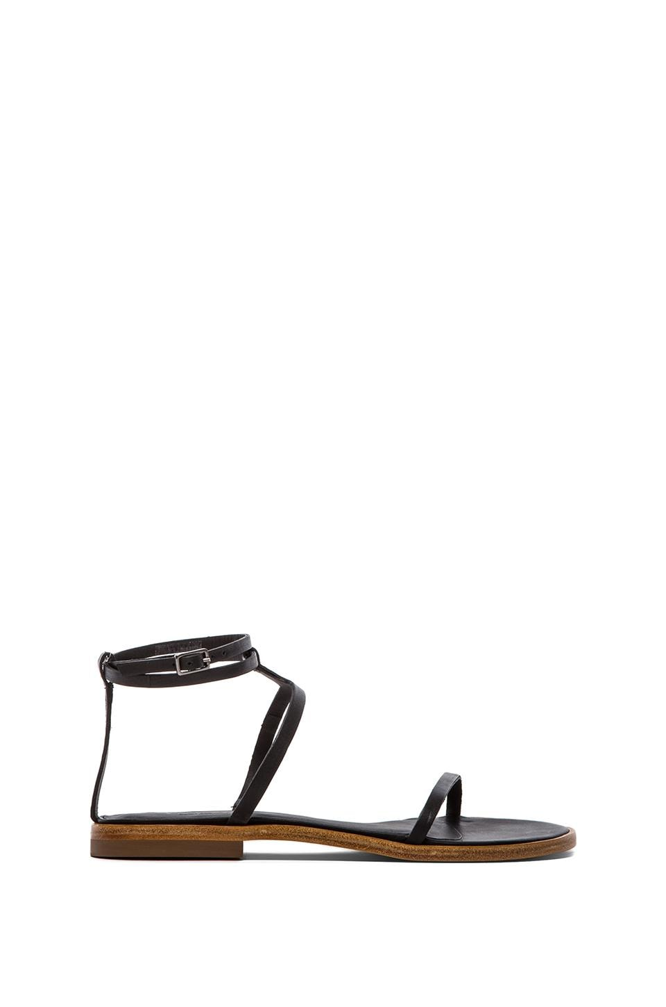 Tibi Colby Sandal in Black
