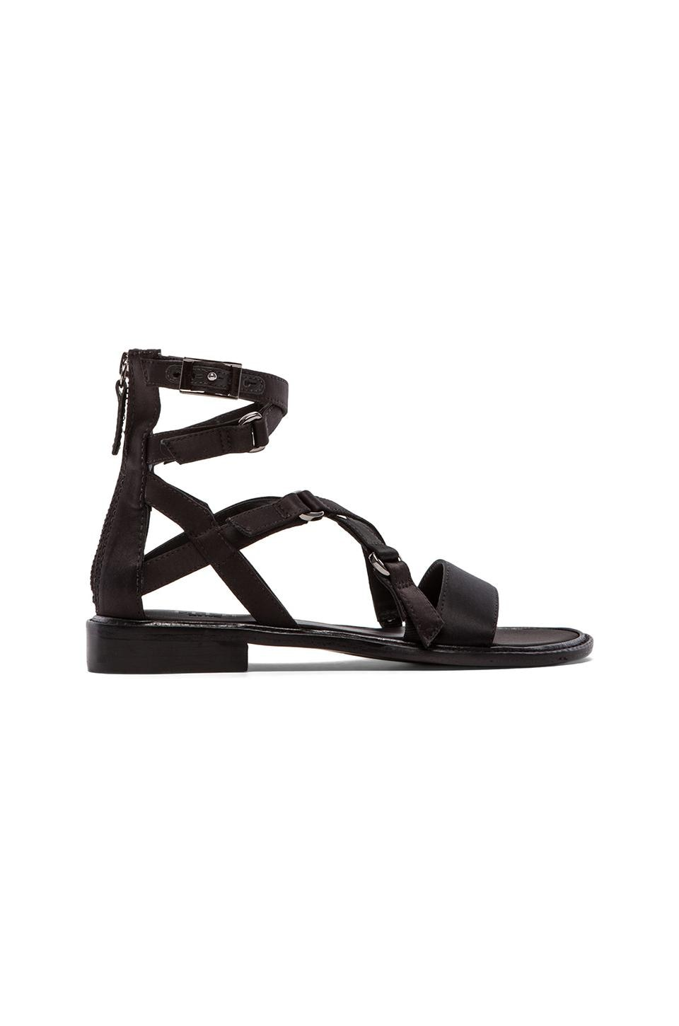 Tibi Imogen Sandal in Black
