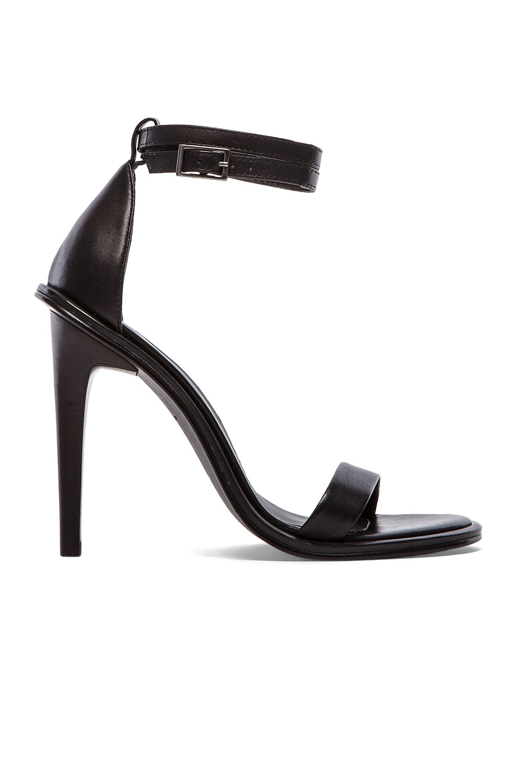 Tibi Amber Heel in Black