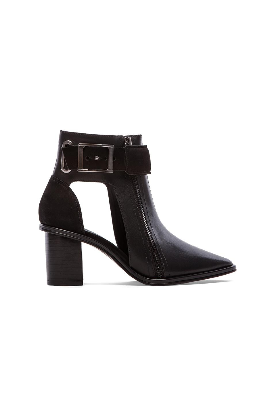 Tibi Suvi Booties in Black