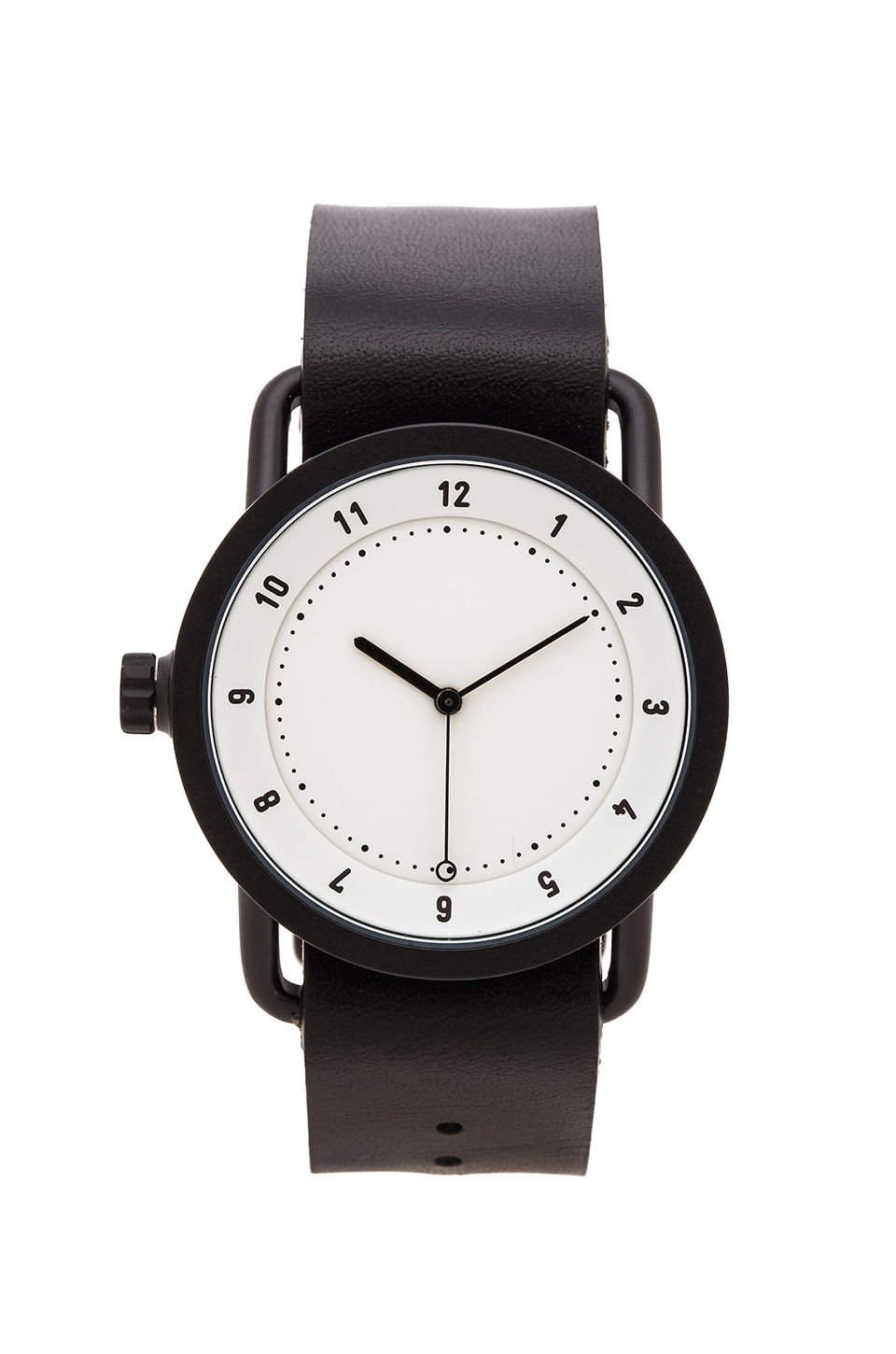 TID Watches No. 1 in White & Black Leather
