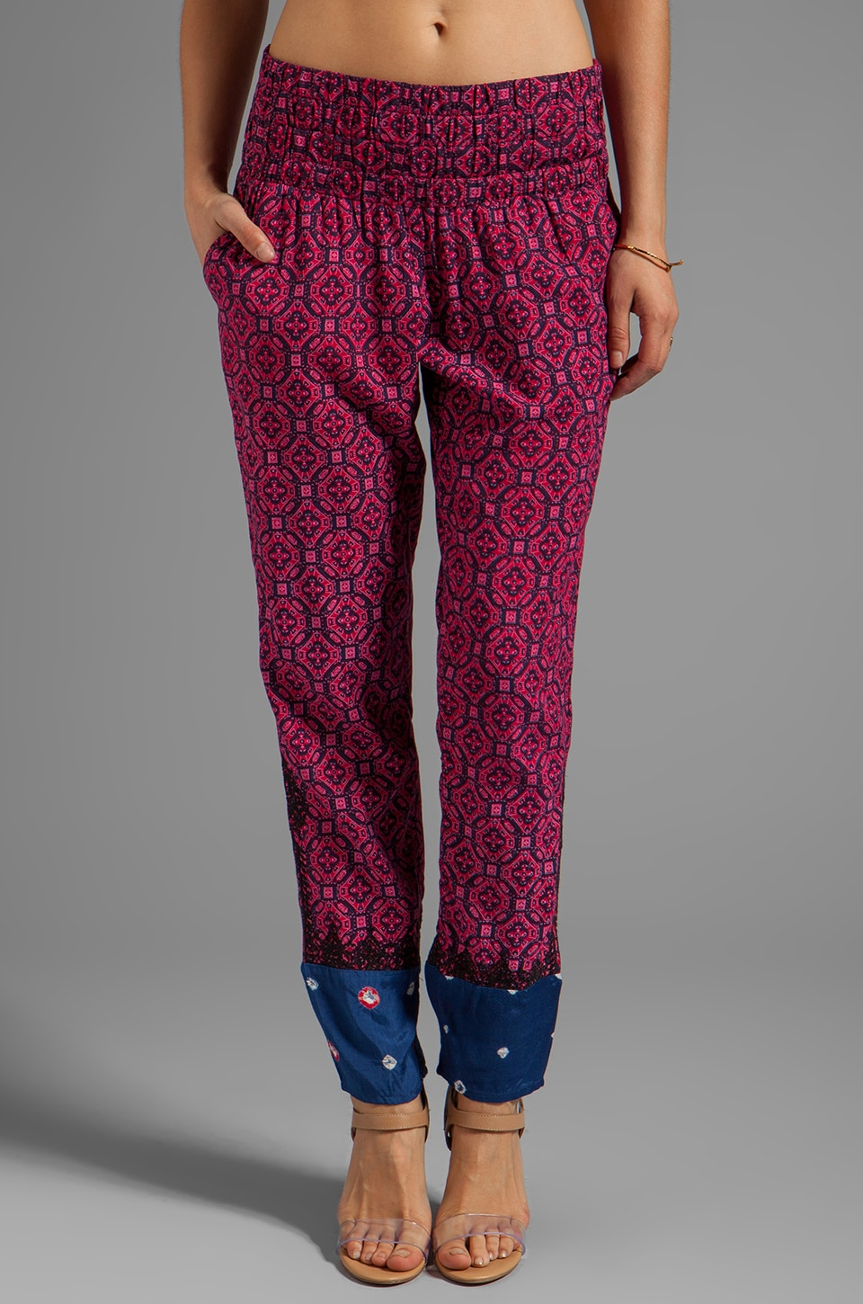 Tigerlily Bandhini Pant in Raspberry