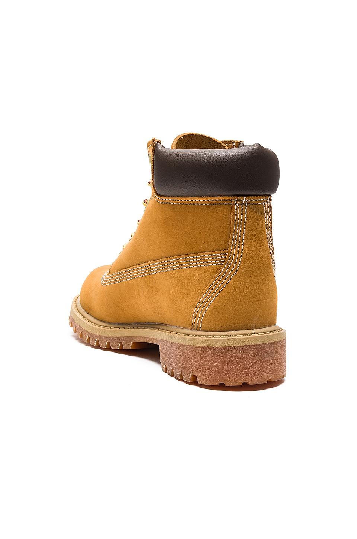 """Timberland 6"""" Premium Waterproof Boot in Wheat Nubuck"""