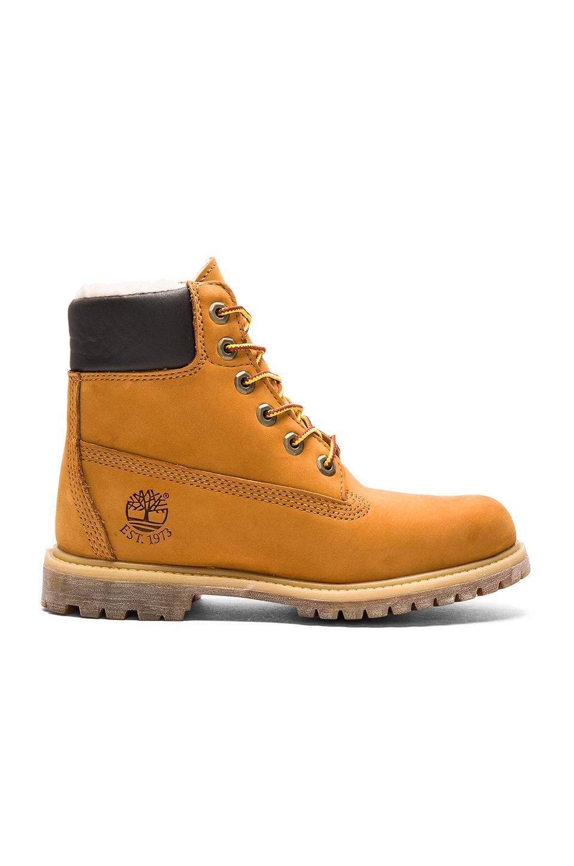 Timberland 6' Premium Boot in Wheat Nubuck