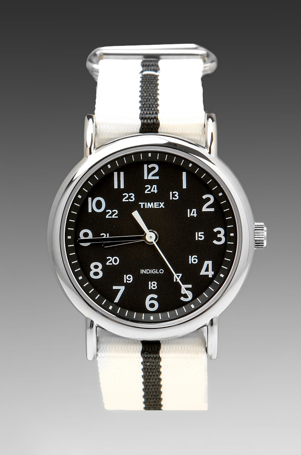 Timex Sunday in White/Black